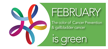 The color of February is Green