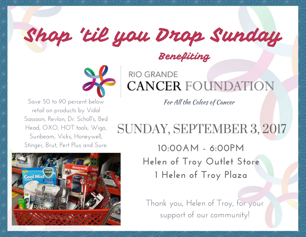 ​ SEPT 3 is THE day to shop at Helen of Troy's Outlet Store