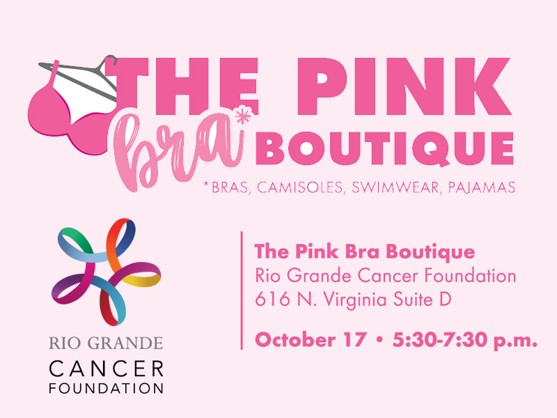 A Pop-Up Pink Boutique One-Day Event, Oct 17. Photo