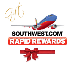 Gift Southwest Rapid Reward Points