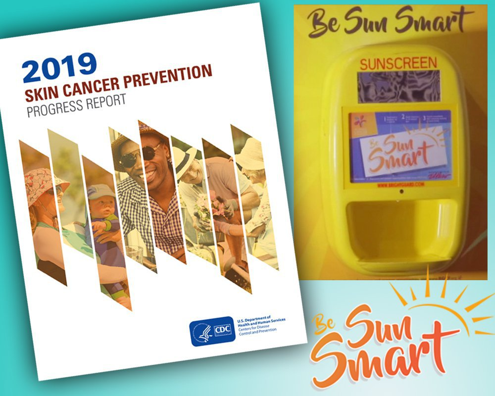RGCF sunscreen initiative featured in national Centers for Disease Control report